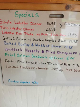 Dock's Seafood: Daily Specials