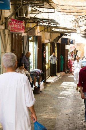 Medina of Fez: Medina Passageway