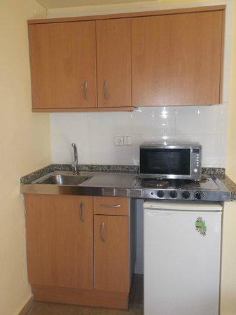 Aparthotel Best Da Vinci Royal: kitchen area