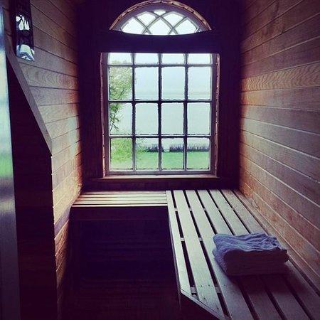 Balance Rock Inn: The private sauna in room 404
