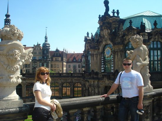 Zwinger: дворец цвингер