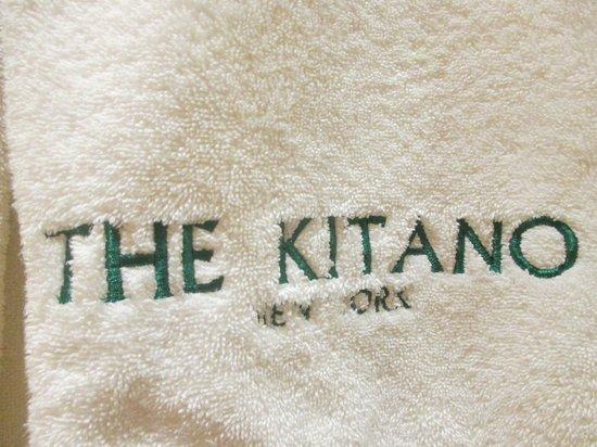 Kitano New York : Plush towels