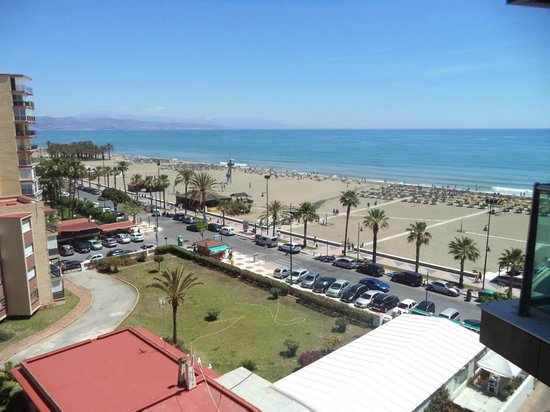 Sol Principe : Vista de la fantástica playa desde la habitación