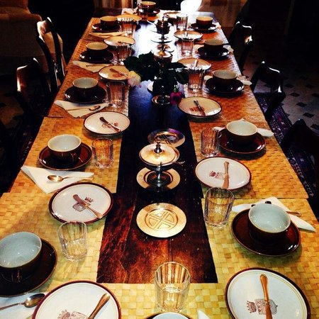 Casa Giulia Country House : La tavola della colazione.