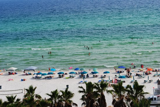 Holiday Inn Resort Panama City Beach: View from Room May 2014
