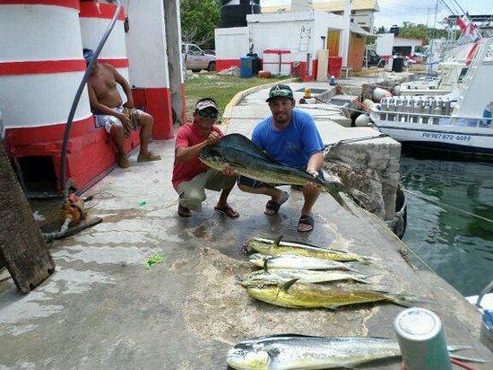 Chichi Charters: My husband's catch!