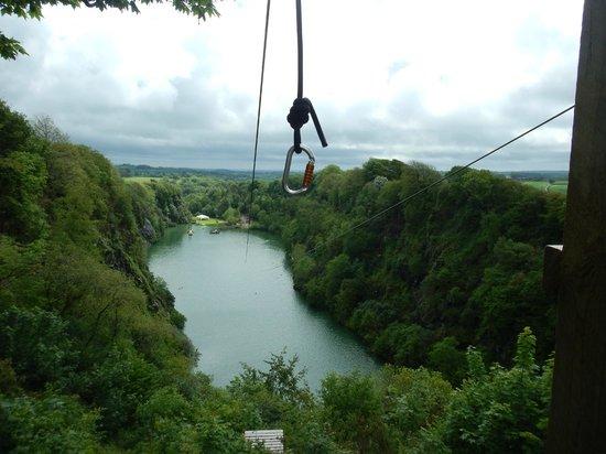 Adrenalin Quarry: Zip Wire