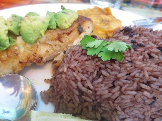 Tap Tap: fish with lime sauce