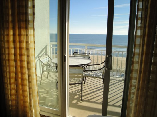 Hilton Suites Ocean City Oceanfront: Balcony