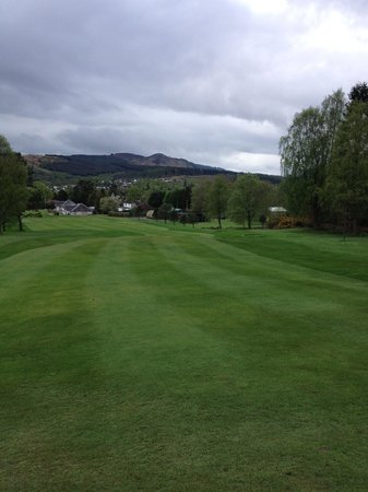 Callander, UK: A walk in the park