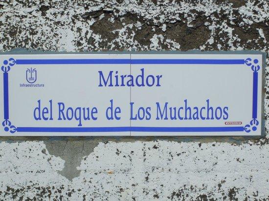 Roque de Los Muchachos: Markers