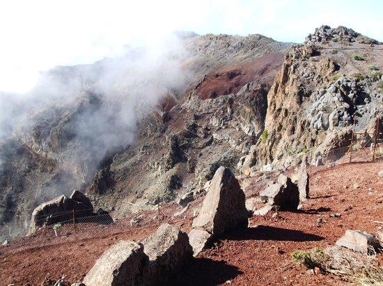 Roque de Los Muchachos: View of the rim