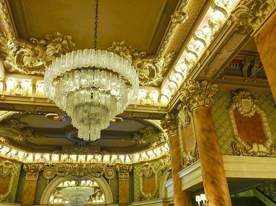 Wolcott Hotel: The Lobby Ceiling