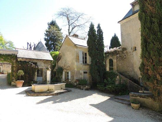 Chateau de Nazelles Amboise: What an entry!!