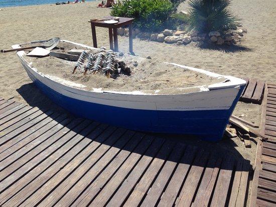 Amare Beach: Al rico espeto!!!