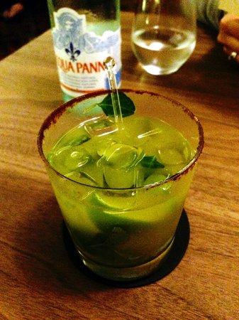 Quintonil : Coctel de Tequila