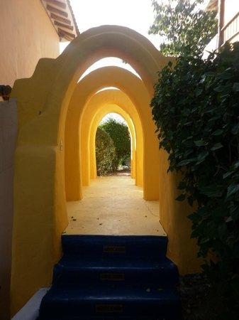 Mantaraya Lodge: Vista de las partes comunes