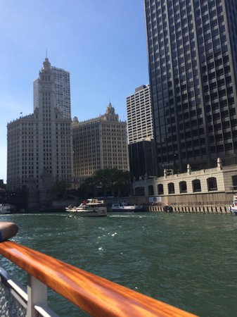 The Westin Chicago River North: Chicago Architecture Foundation Boat Tour