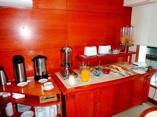Sunset Beach Hotel: Café da manhã