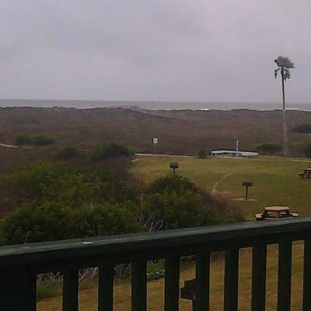 Sea Isle Village: Looking to the left from the balcony