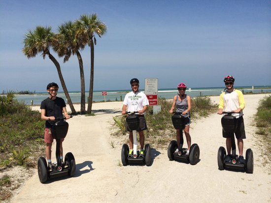 Remi's Segway Tours: Ft DeSoto Park - 2014. Gorgeous View!