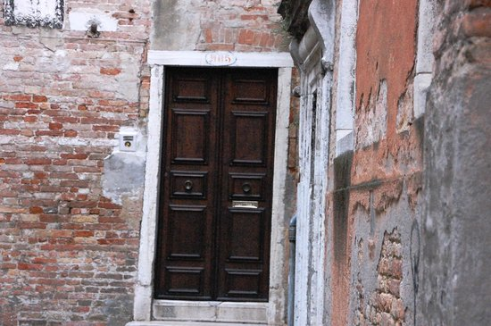 Il Giardino di Giulia : The door to the B&B, which we referred to as home.