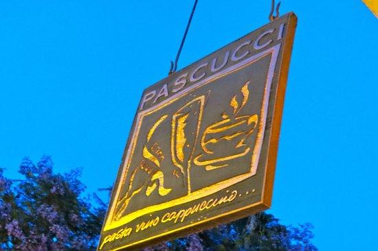 Pascucci Restaurant : Pascucci!