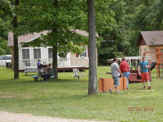 Clearwater Lake Resort : Horse Shoes