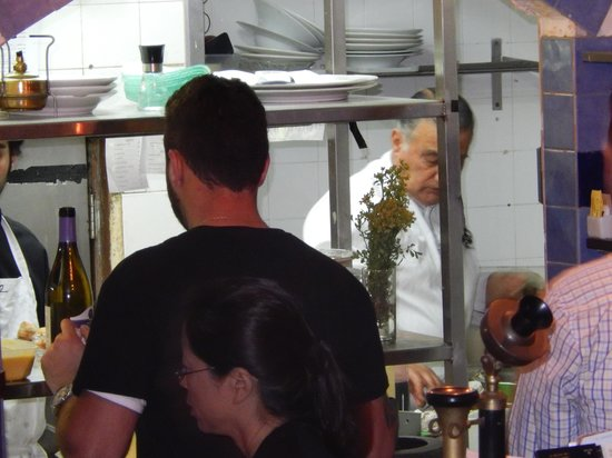 The Eucalyptus: The chef in the kitchen