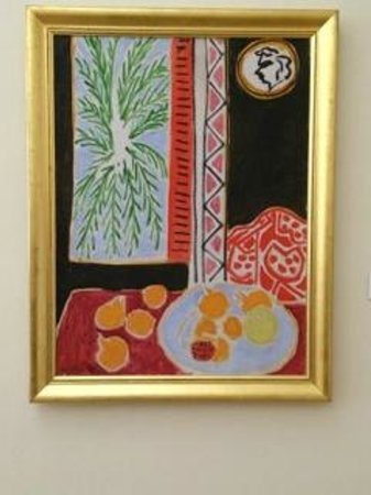Musee Matisse: One of more colorful paintings in Musee