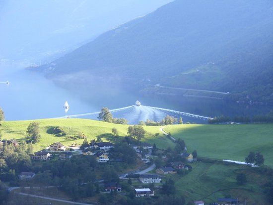 View from Brekkefossen - zoomed in