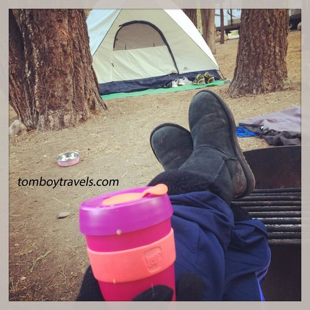 Serrano Campgrounds: Chillin' in the early morning!