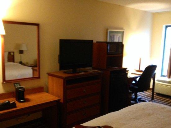 Hampton Inn Cherokee: King Room