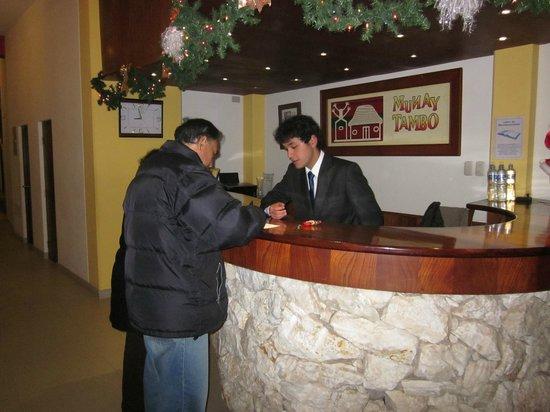 Munay Tambo Hotel: Recepción