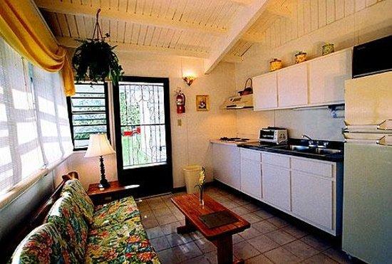 Tamarindo Estates Beach Apartments: Typical Living-Kitchen Area