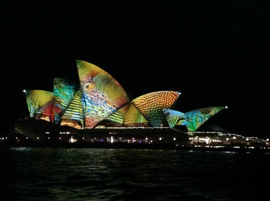 Real Sydney Tours : Vivid Sydney May 2014