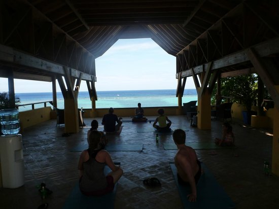 Tranquilseas Eco Lodge and Dive Center : Top Floor