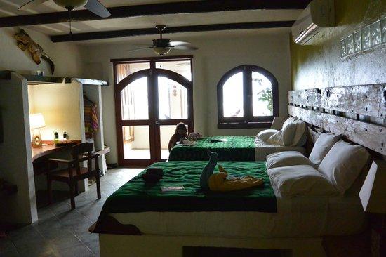 Tranquilseas Eco Lodge and Dive Center : Gecko Room