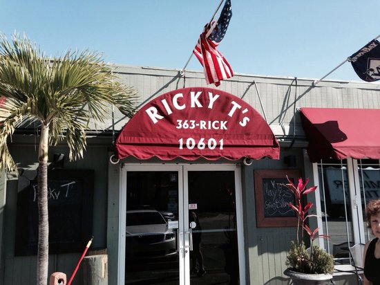 Ricky T's: Enter here for inside dining... Or the other door :-)