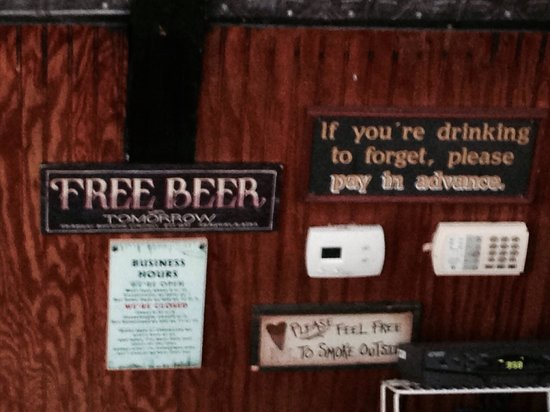 "Ricky T's offers ""free beer"" TOMORROW!!  ;-)"