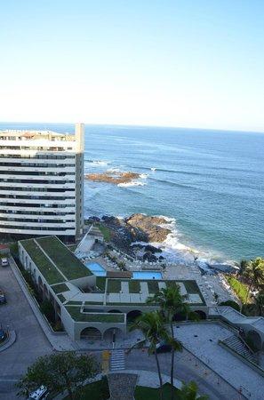 Bahia Othon Palace: Vista do quarto (andar 9)