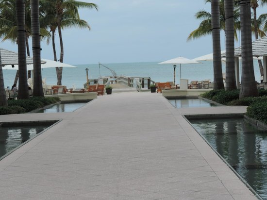 Casa Marina Key West, A Waldorf Astoria Resort: View looking out to the ocean