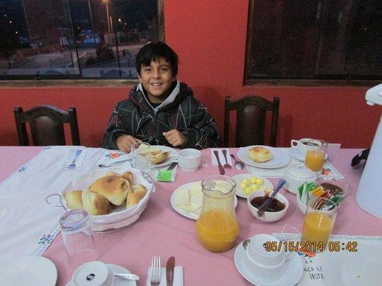 Colca Llaqta Hotel: Desayuno