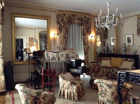Franklin Delano Roosevelt Home: Dresden Room
