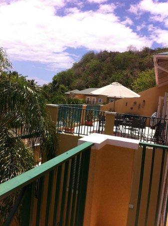 Villa Montana Beach Resort: our Balcony view