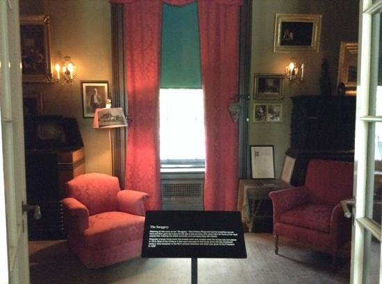 Franklin Delano Roosevelt Home : The Snuggery