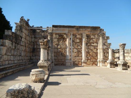 Pina Balev: Capernium ancient synagogue