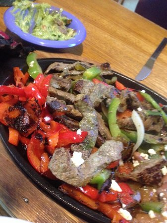 Ed's Cantina & Grill: Local grass fed beef that was very tender
