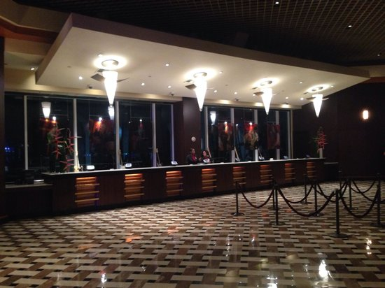 Seminole Hard Rock Hotel Hollywood : check-in desk