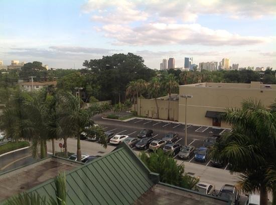 Hyatt Place Ft. Lauderdale 17th Street Convention Center : view from room 509